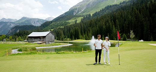 Vital golf at Lech am Arlberg