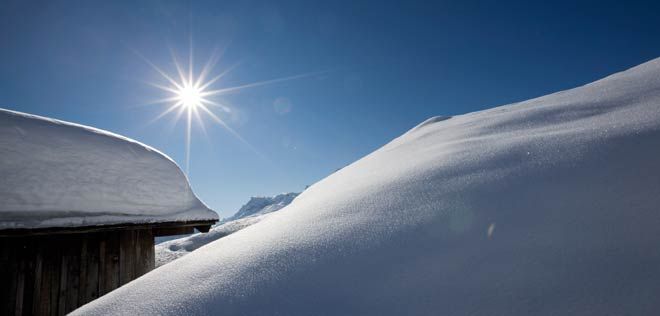 Winter at Lech am Arlberg