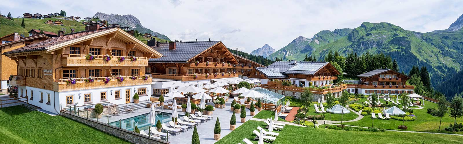 Burg Vital Resort in Lech am Arlberg