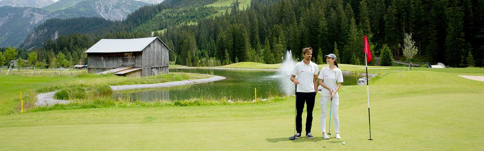 Play golf at Lech am Arlberg