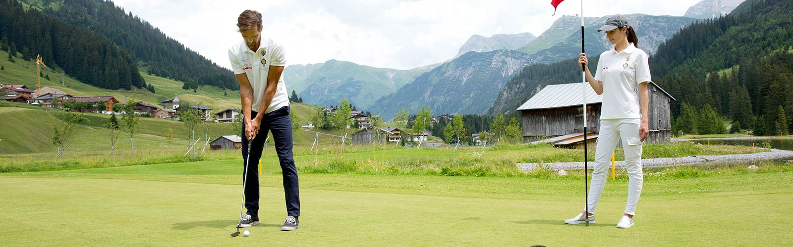 Golf with the family in Vorarlberg
