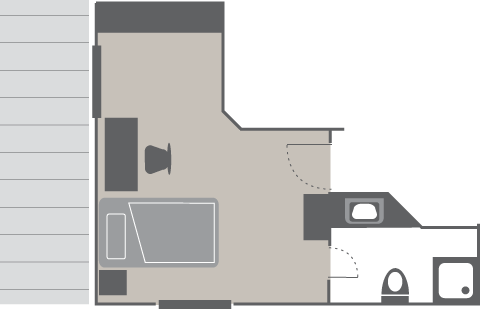 Plan Single room