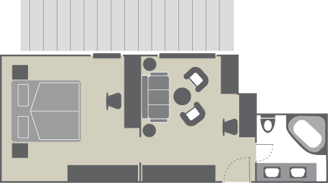Plan Junior Suite