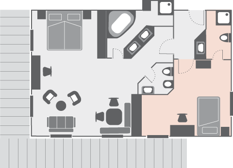 Plan Landhaus Apartment